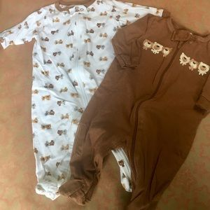 Baby one piece Suit 2 pairs!